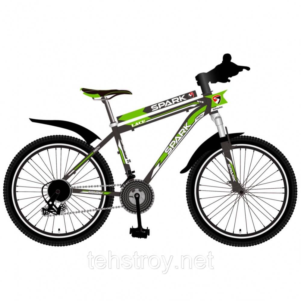 24' Велосипед SPARK LACE, рама - Сталь