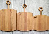 Набор досок кухонных разделочных / сервировочных из массива бука