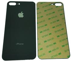 Стекло задней крышки для Apple iPhone 8 Plus, черное