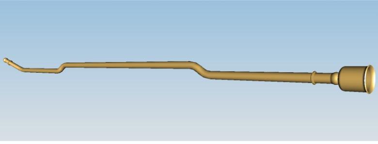 Трубка подачі палива від лівого бака 316380110409610