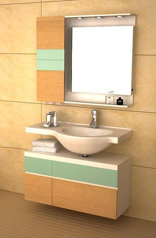 Комплект мебели для ванной CRW GSP9102, фото 2
