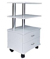 Тележка косметологическая стол с ящиками на колесиках