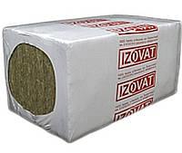 Мінеральна вата Izovat 30 на синтетичному зв'язку язуючому (1000х600х50) 6 м2