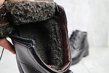 Ботинки мужские Vivaro 620 черные (натуральная кожа, зима), фото 2