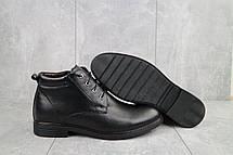 Ботинки мужские Vivaro 620 черные (натуральная кожа, зима), фото 3