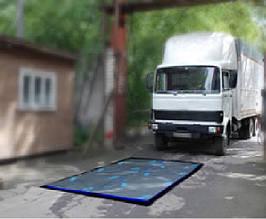Дезковрик автомобильный (автодезбарьер) 100х200х9 см