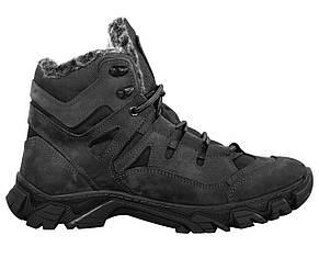 Ботинки тактические зимние AZIMUT черные, фото 2