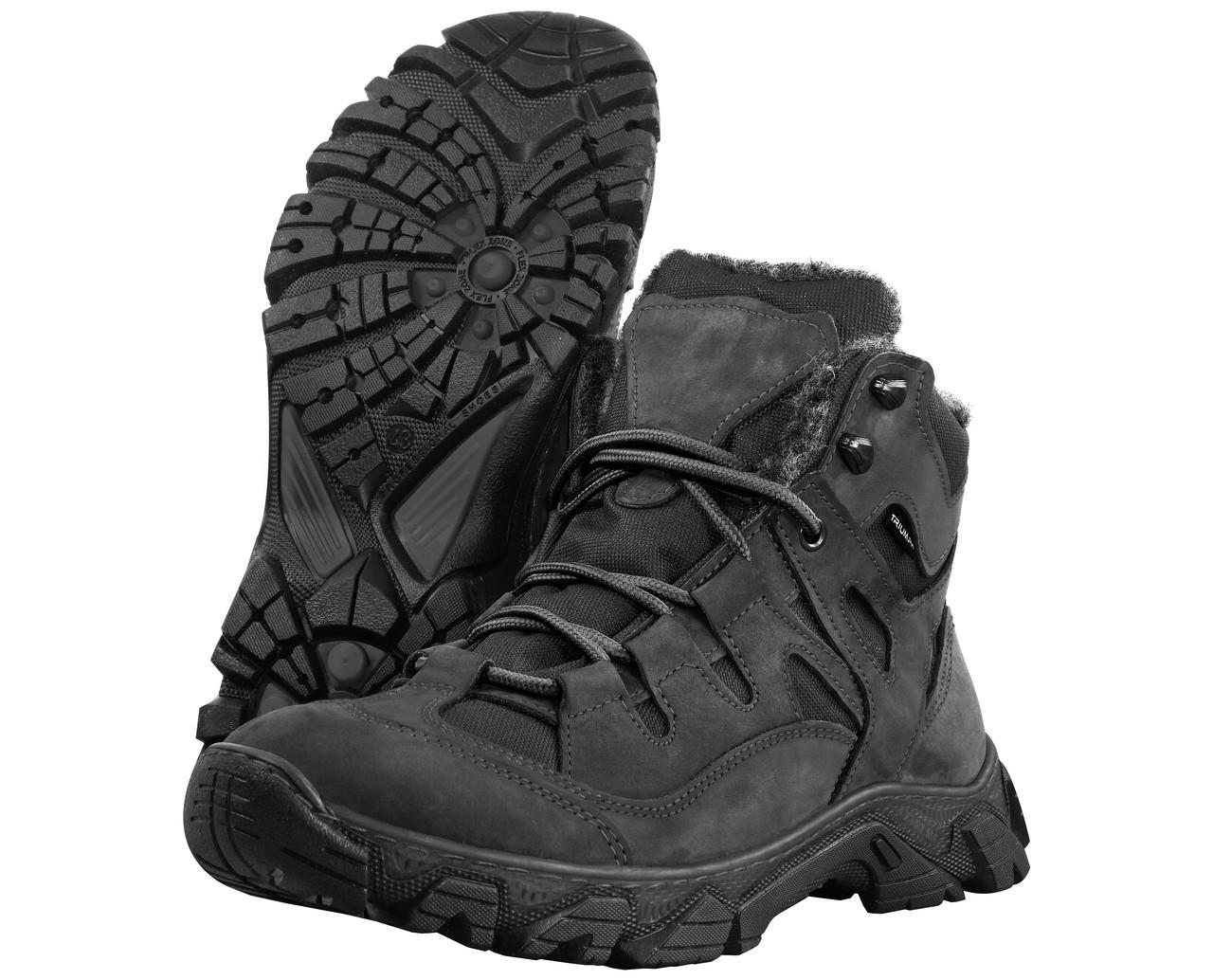 Ботинки тактические зимние AZIMUT черные