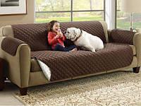 Покрывало двустороннее Couch Coat, накидка на диван, покрывало на диван, покрывало для дивана