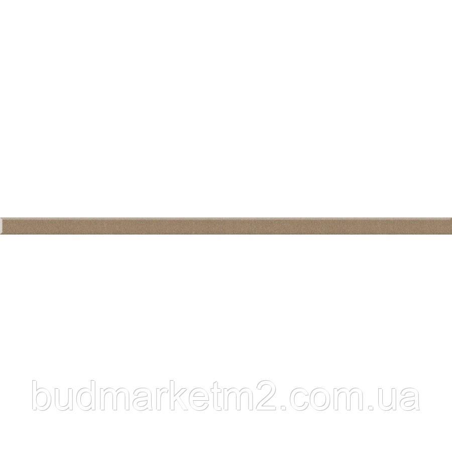 Плитка Paradyz ROBYN ФРИЗ УНИВЕРСАЛЬНЫЙ МЕТАЛИЧЕСКИЙ ПОЛИРОВАННЫЙ 600х20
