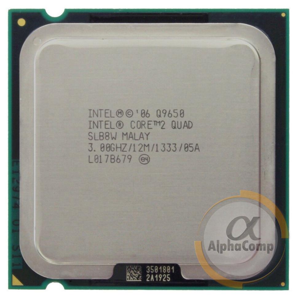 Процессор Intel Core2Quad Q9650 (4×3.00GHz/12Mb/s775) БУ