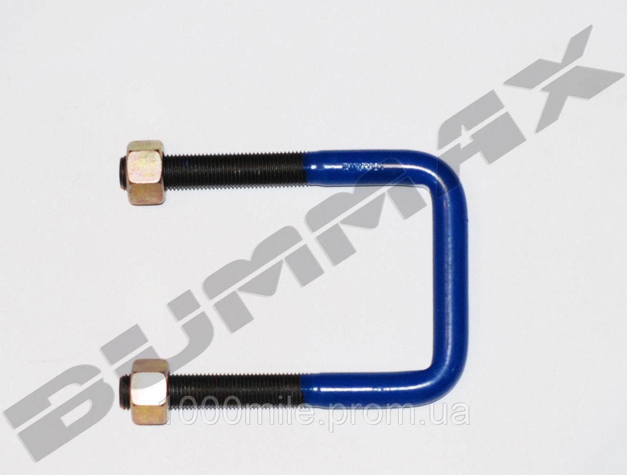 Стремянка (3) рессоры с гайкой на M14x1,5x71x120 IVECO  9873612019 - BUMMAX  - BMT00292 W/N