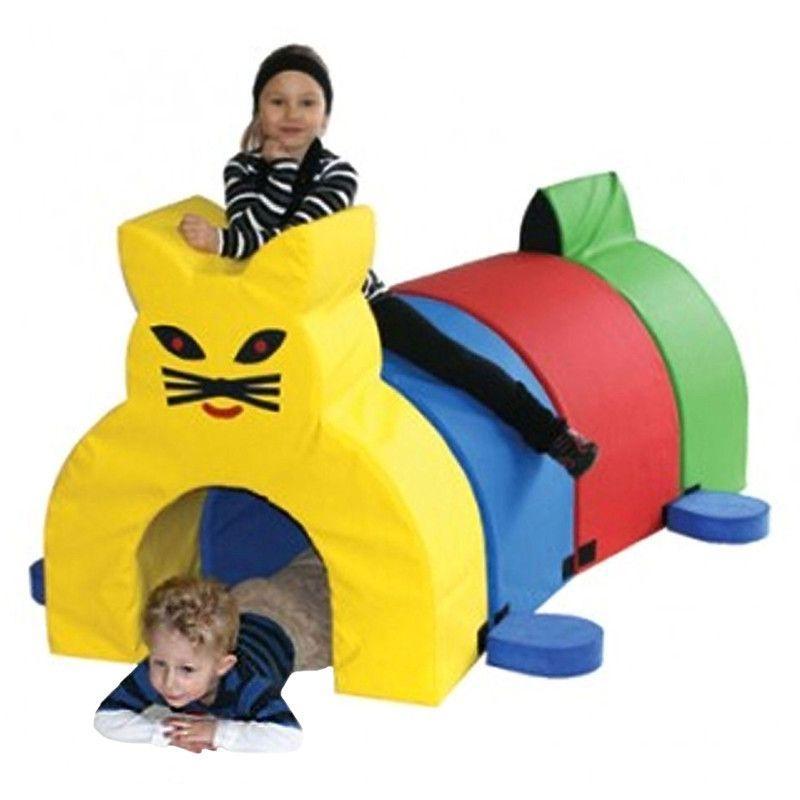 """Игровой набор из пеноблоков """"Туннель Котик"""" Woopie KKR035"""