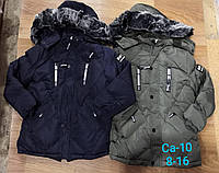 Зимняя куртка-пальто для мальчиков оптом, 8-16 лет, Sincere, арт. Ca-10, фото 1