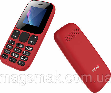 Телефон Nomi i144c Red, фото 2