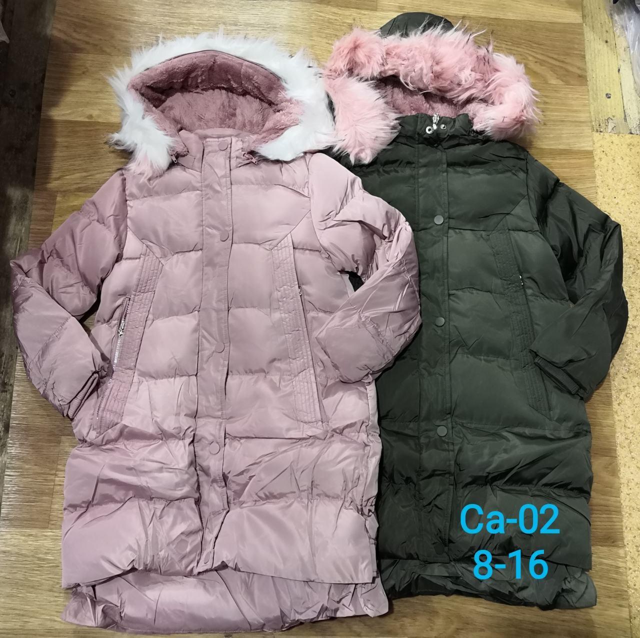 Зимняя куртка-пальто для девочек оптом, 8-16 лет, Sincere, арт. Ca-02, фото 1