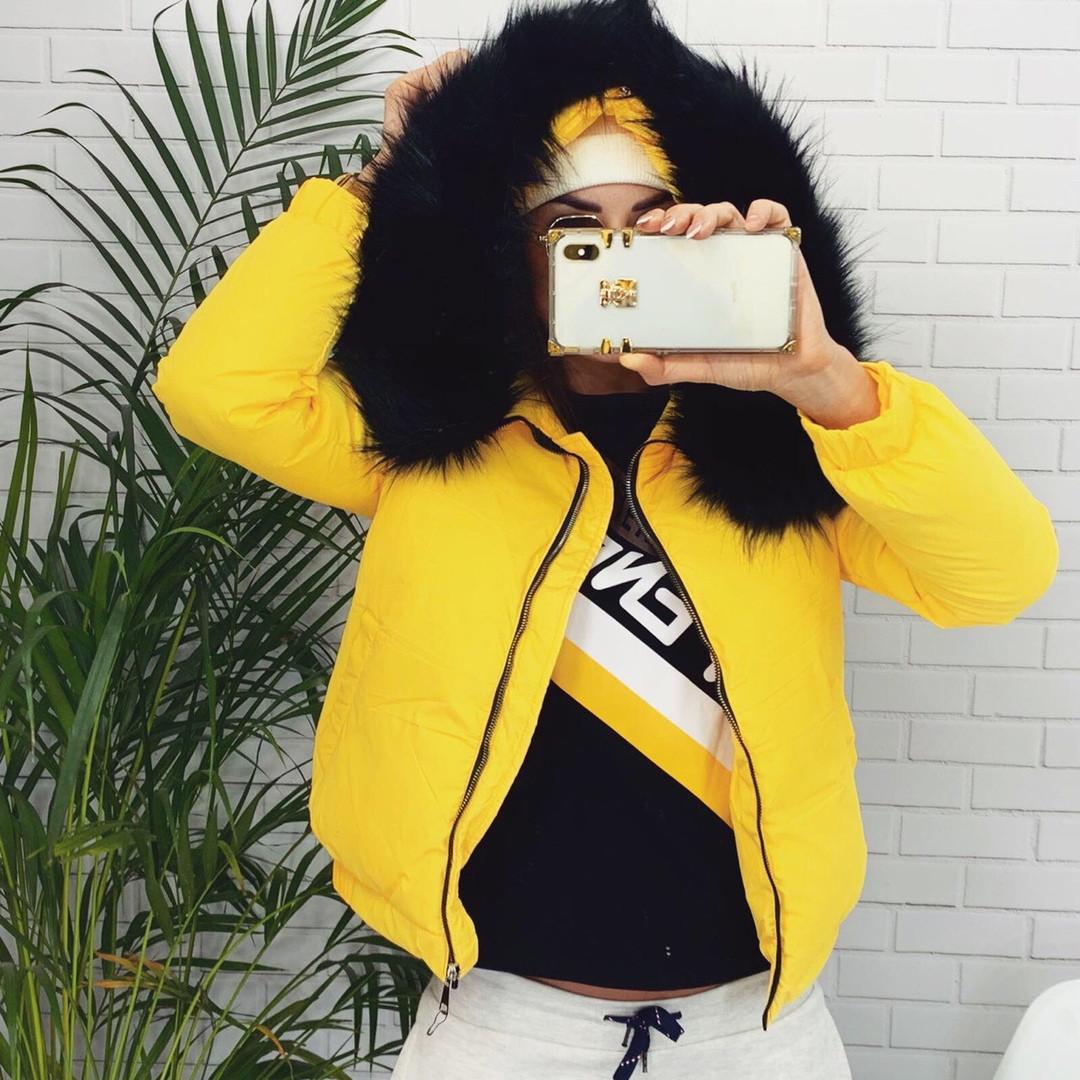 Женская теплая куртка  ГН635