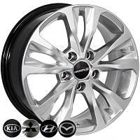 Zorat Wheels BK5212 R16 W6.5 PCD5x108 ET37 DIA65.1 HS