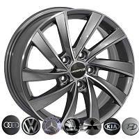 Zorat Wheels BK5290 R16 W6.5 PCD5x105 ET39 DIA56.6 GP