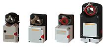 Электроприводы для воздушных заслонок без обратной пружины