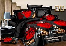 Комплект постельного белья   Роза и кофе