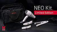 Набор парикмахерский Moser Neo Kit 1886-0100 — Limited Edition: машинка, триммер, фен, утюжок