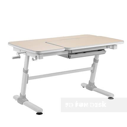 Ученический стол-трансформер FunDesk Invito Grey, фото 2