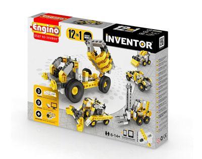 Конструктор INVENTOR 12 в 1 - Строительная техника