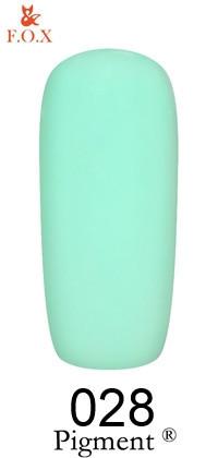 Гель-лак F. O. X Pigment №028, 6 мл