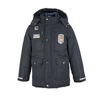 Куртка-трансформер  детская зимняя-демисезонная для мальчика Коламбия 146,152,158,164см сьемний жилет