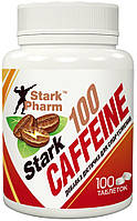 Кофеин Stark Pharm - Caffeine 100 мг (100 таблеток) (в 2 раза выгоднее аптечного)