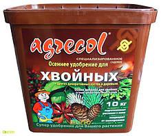 Комплексное удобрение для хвойных растений Агрекол Осень, 10 кг