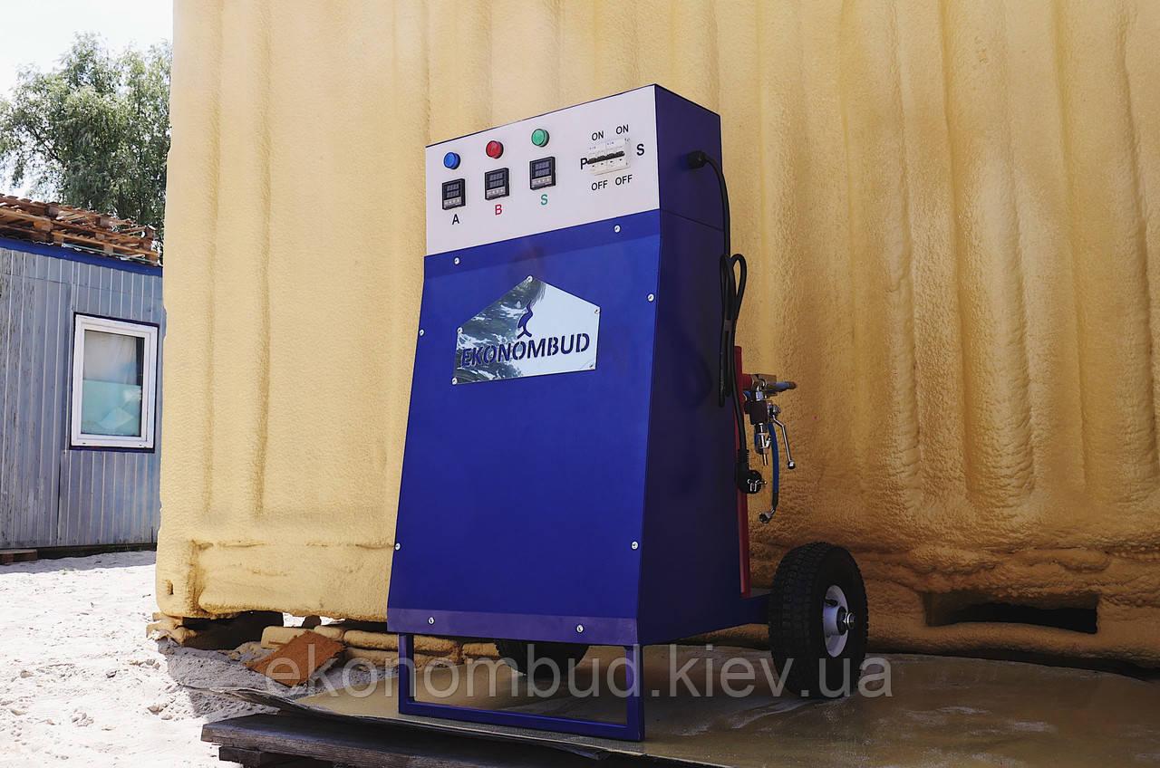 Оборудование для заливки и напыления жесткого и легкого ППУ и любой полимочевины