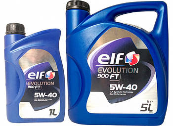 Моторное масло Elf EVOL 900 FT 5w40 (Канистра 1л, 5л)