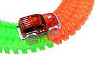 Конструктор Magic Tracks 360 деталей,  детская дорога с мостом и 2 гоночные машинки, фото 2