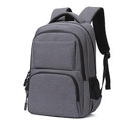 Рюкзак для ноутбука Cambridge (черный/серый)