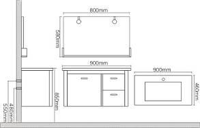 Комплект мебели для ванной CRW SP3309, фото 2