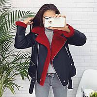 Женская модная дубленка  ГН636, фото 1