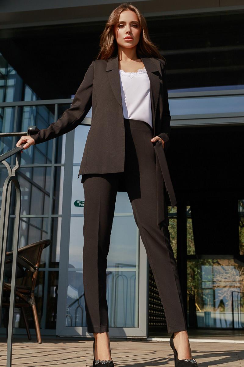 Женский костюм тройка Черный