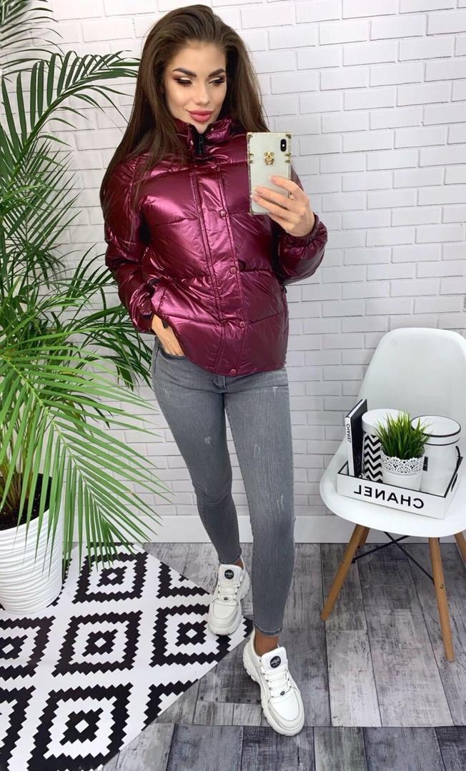 Женская куртка с капюшоном  ГН640