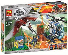 Конструктор Bela 10918 Побег птеранодона (Аналог LEGO Juniors Jurassic World 10756) 96 дет
