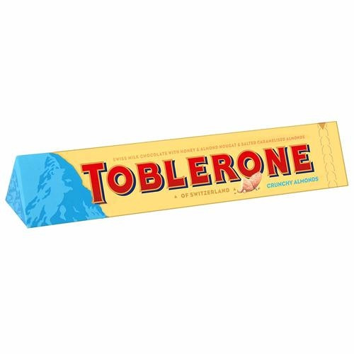 Молочный шоколад Toblerone мед и миндальная нуга 100 г