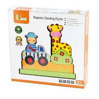 "Магнитный пазл Viga Toys ""Сафари"" (59702) (59702)"