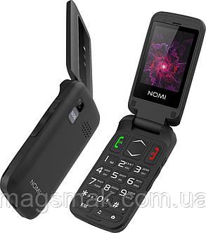 Телефон Nomi i2400 Black, фото 2
