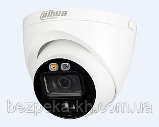 5Mp Видеокамера активного реагирования Dahua HAC-ME1500EP-LED 2.8mm