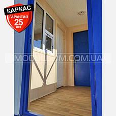 Пост охраны КПП (6 х 2.4 м.), проходная, блок-контейнер., фото 3