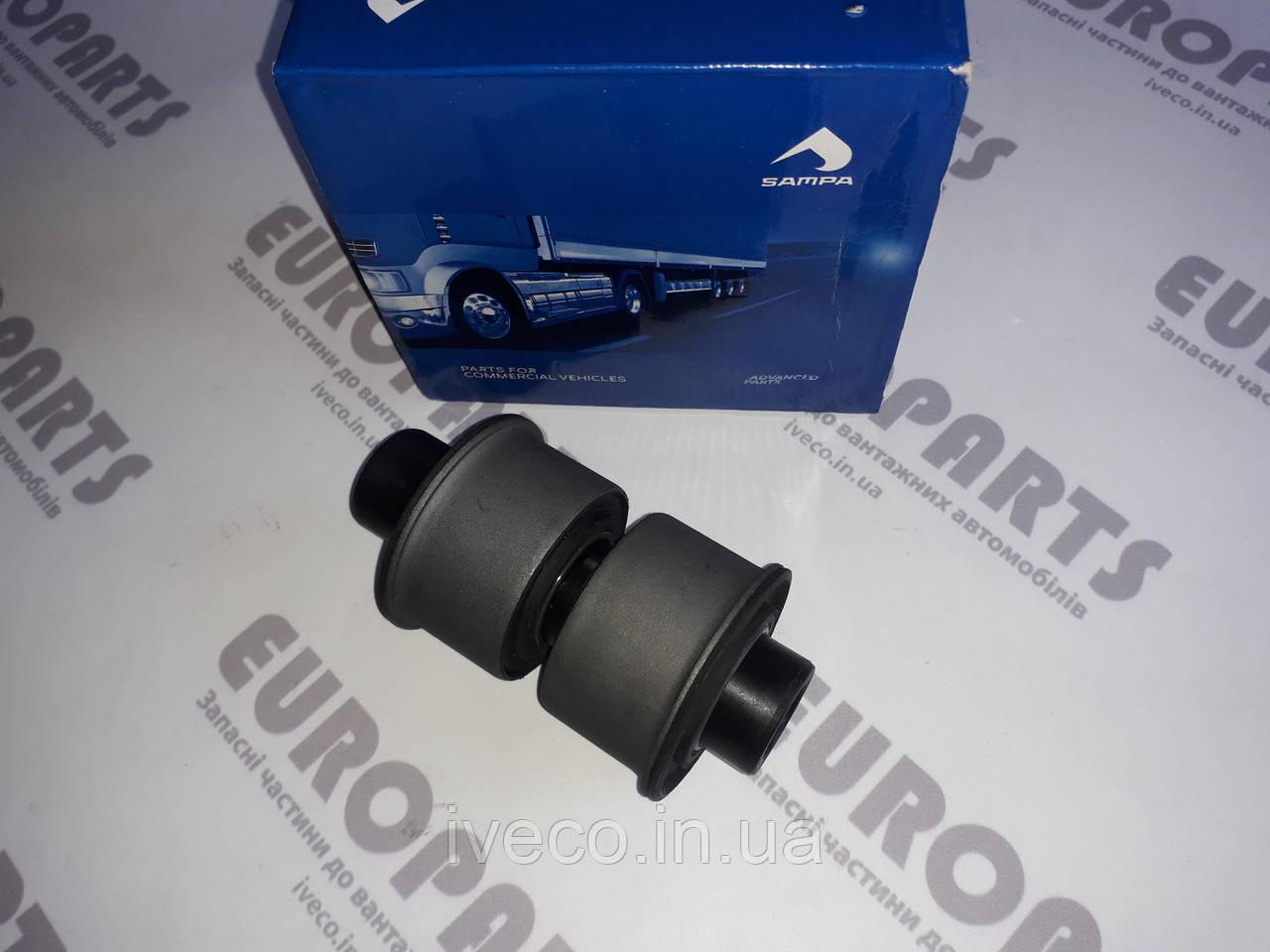Ремкомплект подвески кабины Iveco Trakker Eurotrakker Stralis Ивеко 500357265 504021532 втулки + палец