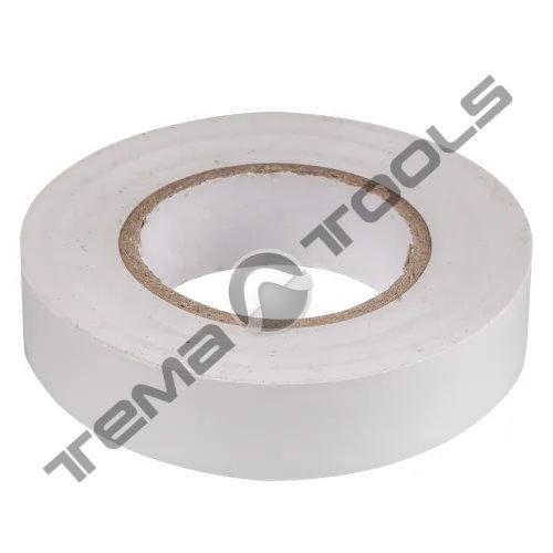 Лента изоляционная (изолента) ПВХ 0,15 мм x 15 мм x 20 м белая