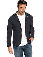 Синий мужской пиджак LC Waikiki / ЛС Вайкики, с накладными карманами, на 3 пуговицах S