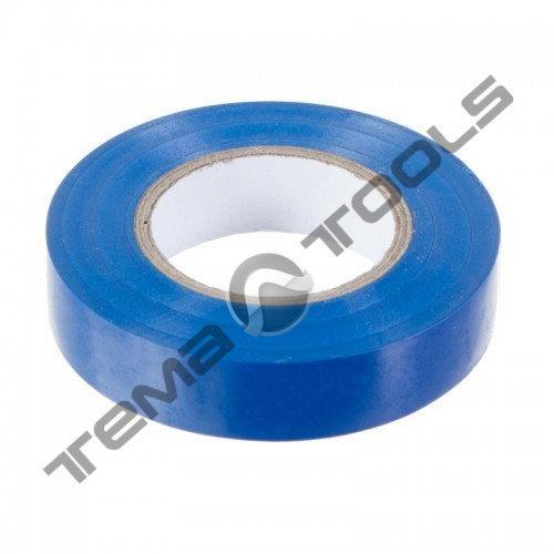 Лента изоляционная (изолента) ПВХ 0,15 мм x 15 мм x 20 м синяя